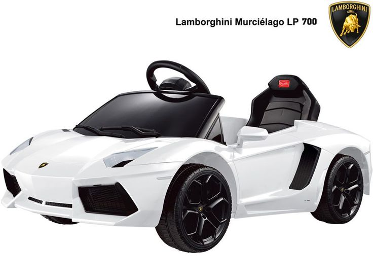 Rastar Lamborghini Aventador LP700-4 6v Orange Ride On (Remote Controlled)