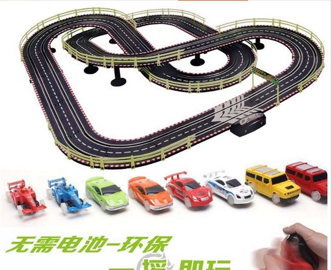 550cm electric rc car toy roller coaster track carshigh speed rail track combat racing car kids toys educational toys pinterest electric rc cars