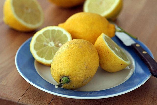 lemon yogurt cake with apricot cherry compote lemon yogurt cake lemon ...