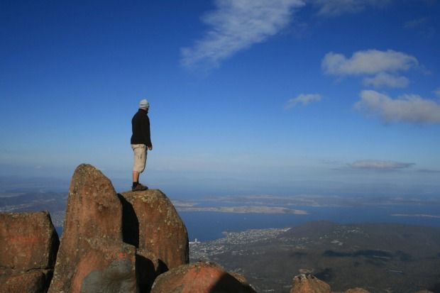 "Mt Wellington, overlooking Hobart, Tasmania: ""Absolutely the most horrible drive"" Photo: iStock"