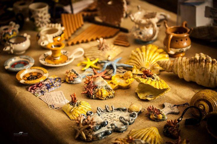 Bluarte ceramiche artistiche siciliane in esposizione