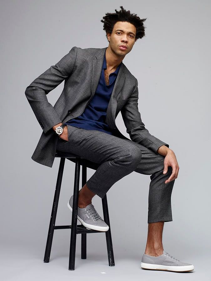 FashionBeans.com - Mens' Style blog (great for ideas for men's gifts) Charlie Casely-Hayford For Superga