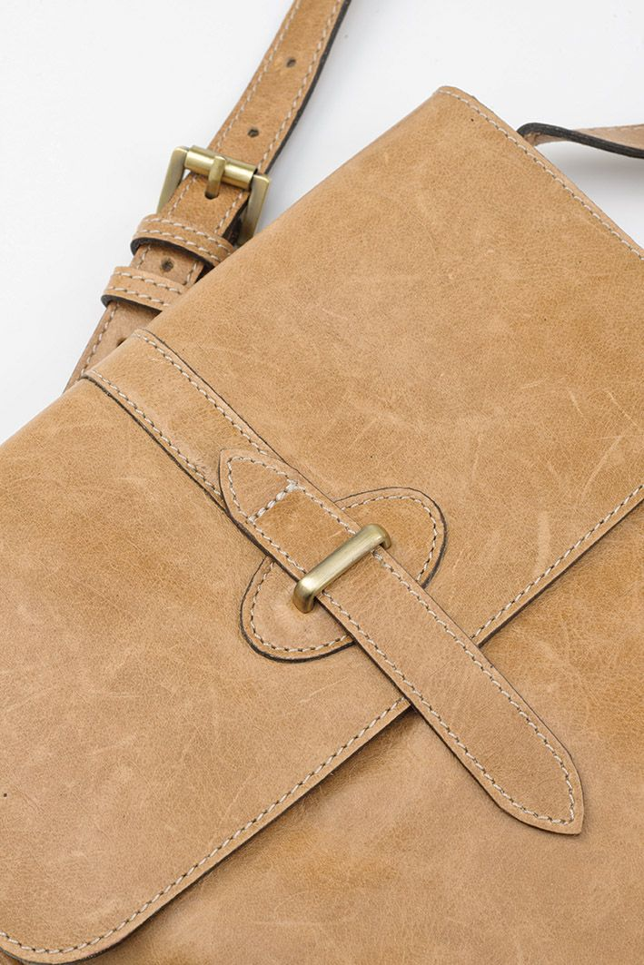 Leather Crossbody - from Mat & May