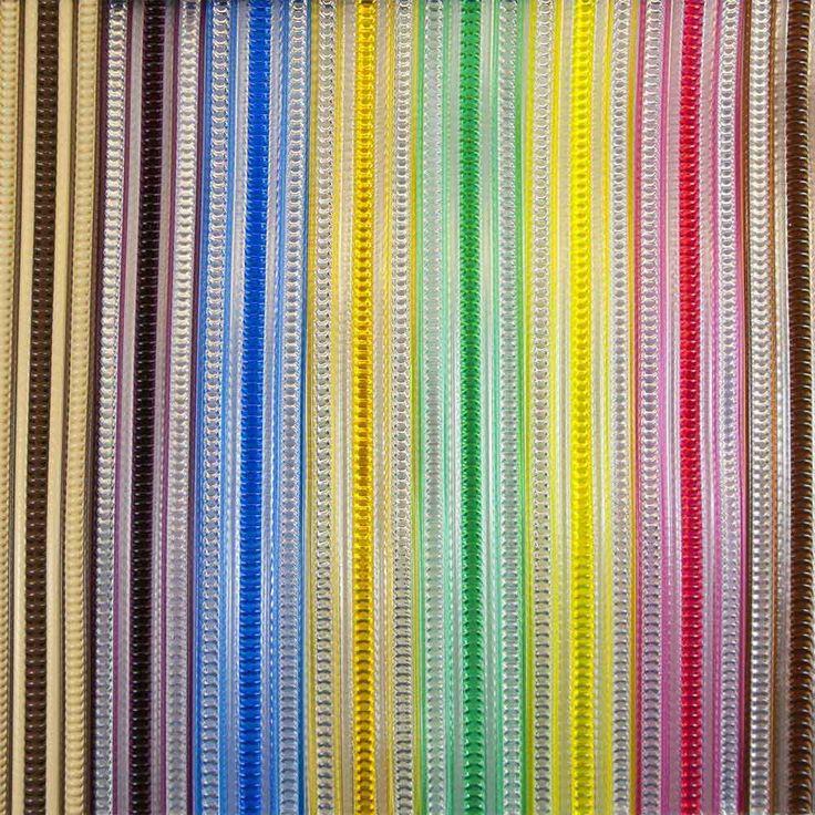 Cortina exterior de cinta antimoscas en colores transparentes y opacos #cortinas #cortinascinta #cintasexteriores #cortinasantimoscas #cortinasbaratas #cortinaspvc