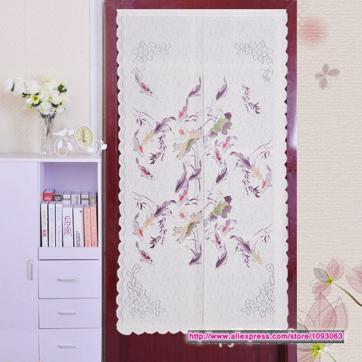 Korean Style Classical Carp Door Curtain Bedroom Decoration Knitting Feng Shui Good Fortune-in Curtains from Home, Kitchen & Garden on Aliexpress.com | Alibaba Group