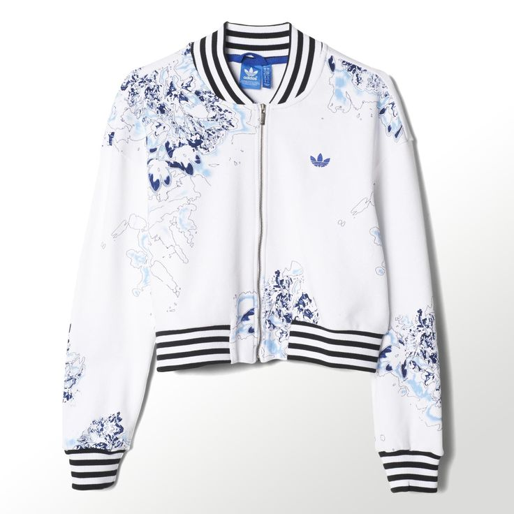 adidas - London Printed Super Track Jacket
