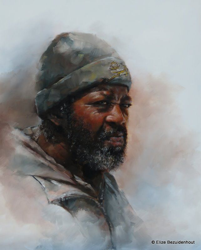 Homeless man by Elize Bezuidenhout