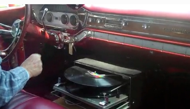A Car Lp Player Model Unknown Late 1960s The Record