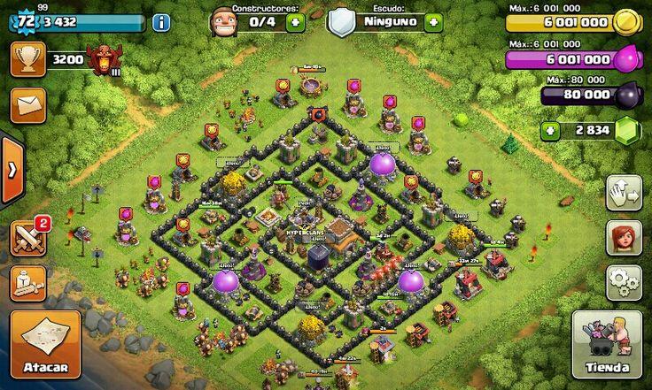 My base tropy th 8