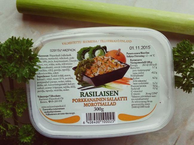 Hopottajien Rasilaisen Hapankaali erikoiskampanjaan avautuis uusi kilpailusarja. Nyt pitäisi valmistaa jotakin herkullista Rasilaisen porkkanaisesta salaatista. Kampanja on avoin kuun loppuun saakka, eli uudetkin innostuneet Hopottajat voivat vielä lähteä tähän mukaan ja tavoitella 50€ K-ryhmän lahjakorttia. ;) Liittyessäsi Hopottajiin käytäthän suosittelukoodiani: HOP10658. :) www.hopottajat.fi, wwwl.rasilaisenhapankaali.fi #rasilaisenhapankaali #hopottajat