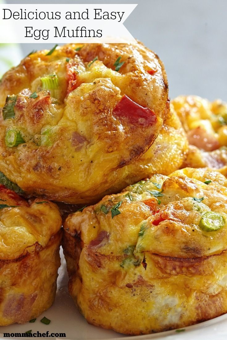 Delicious and Easy Breakfast Egg Muffins | Recipe ...