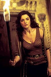 Rachel Weisz, The Mummy Series. Love her, love the movies, Love her style.