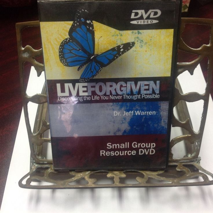 LIVE FORGIVEN DVD, SMALL GROUP RESOURCE, JEFF WARREN, DISCOVER THE LIFE