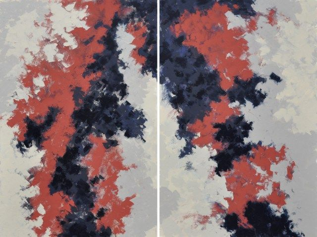 Iva Trzcinska | Miejsca | 80×120 | akryl na płótnie | 2015