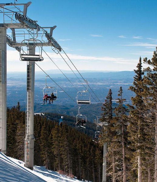 4. Ski Santa Fe, NM