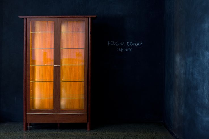Redgum Display Cabinet
