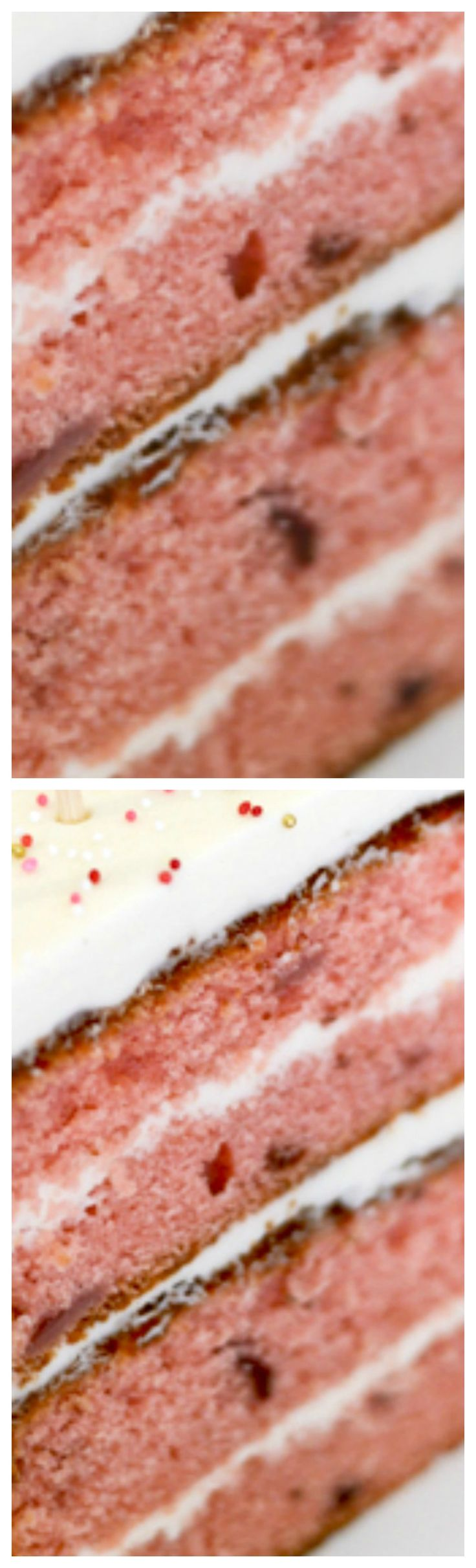The Perfect Pink From Scratch Strawberry Cake Recipe