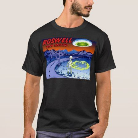 Roswell New Mexico CB T-Shirt - tap to personalize and get yours