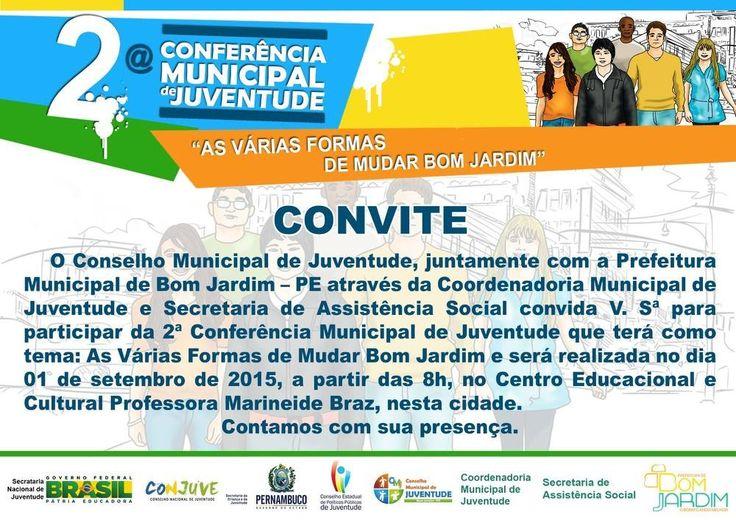 ProfessorEdgar.com: II Conferência da Juventude do Bom Jardim-PE
