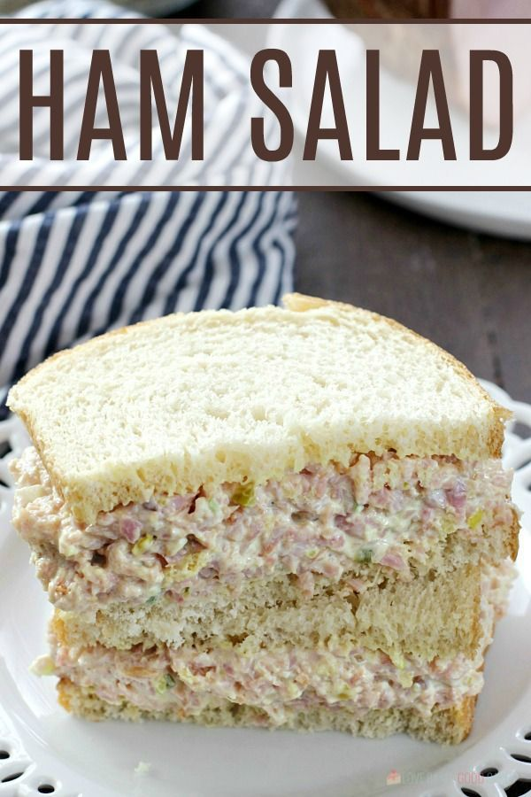 My family LOVED this ham salad! A great way to use leftover ham!