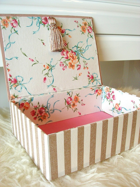 cartonnage box by beautiful sunshine!, via Flickr