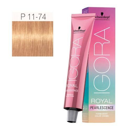 Schwarzkopf Professional Igora Royal Pearlescence Hair Color - Tangerine - P11-74 -- Want additional info? Click on the image.