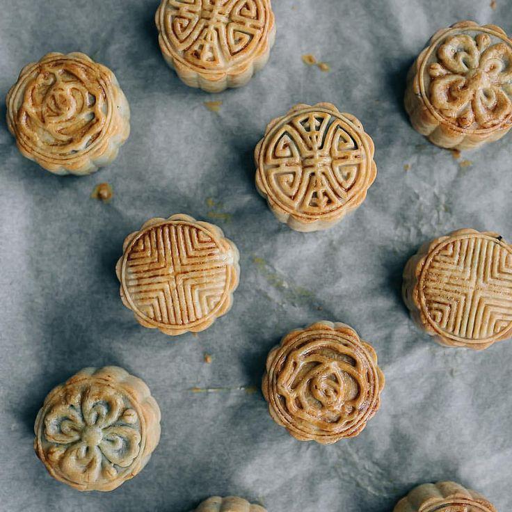 Happy midautumnfestival these were the mini moon cakes i