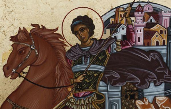 Αμαρτωλών Σωτηρία : Άγιο Δημήτριο τον Μυροβλήτη