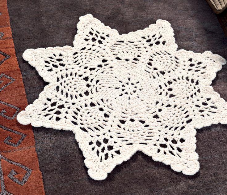 Mejores 96 imágenes de Crochet rugs en Pinterest   Tapetes de ...