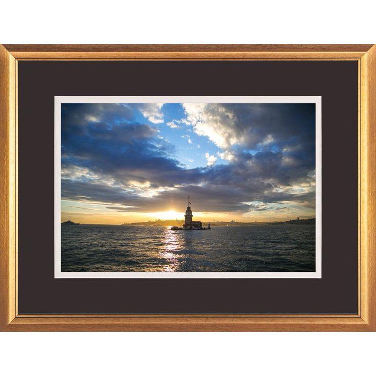 'Kiz Kulesi' by BaliBey For different varieties go to www.minart.co #minart #minartco #minartistanbul #instagram #photography #frame #prints #wallart #walldesign #gallerywall #art #design