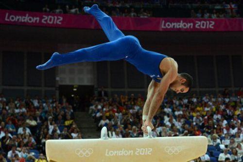 American gymnast Danell Leyva