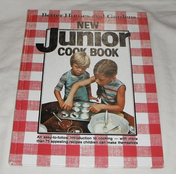 Vintage Hardcover Better Homes and Gardens New Junior Cook Book