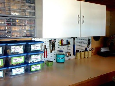 Provides a step-by-step of how she organized the garage.  Good ideas.