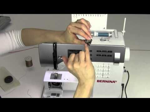 How to wind correctly a bobbin on your BERNINA. - YouTube