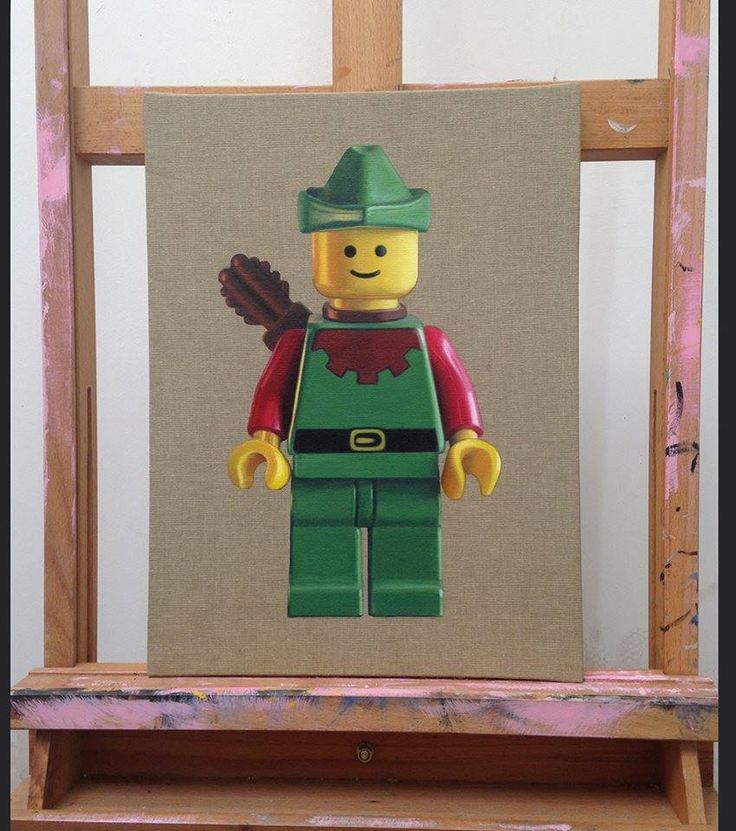 Amazing Lego Paintings by Joe Simpson Fine Art.  ** Limited Edition prints of the LEGO paintings are now available to order! Please note that they will be ready to ship from 27th November** http://joesimpson.bigcartel.com