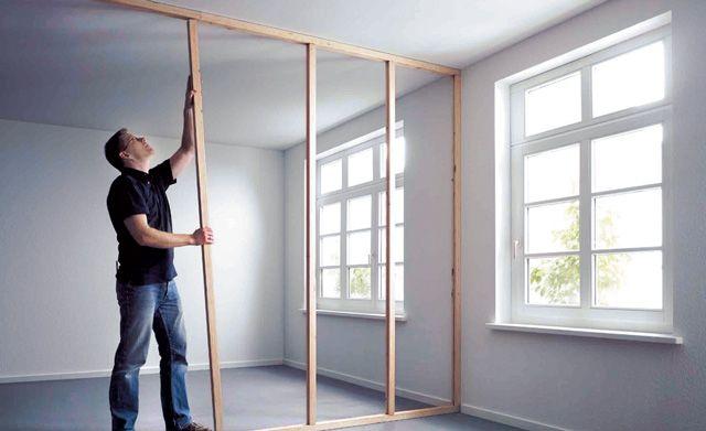 die besten 25 raumteiler selber bauen ideen auf pinterest selber machen raumteiler diy. Black Bedroom Furniture Sets. Home Design Ideas
