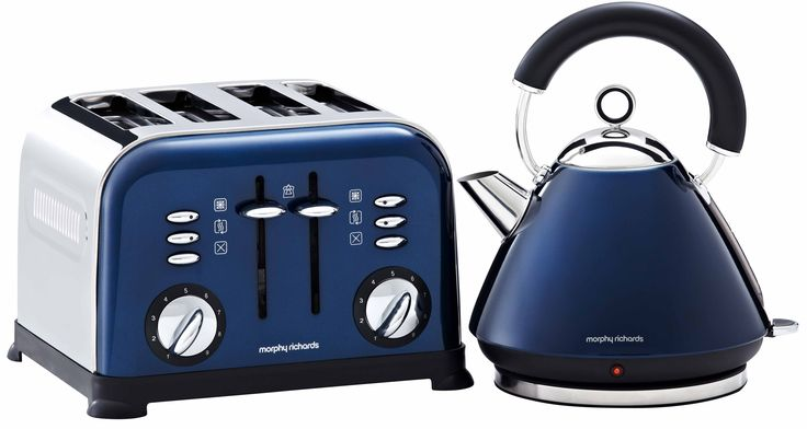 The Latest Colourful Kitchen Appliances Blue Kitchen