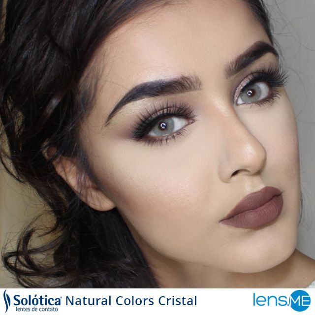 dde229d606 ©ibesadia looks gorgeous with her Solotica Natural Colors Cristal. Double  click the photo to see more #fashi… | Solotica Natural Colors on  www.lens.me ...