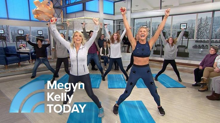 Exercise Moves You Can Do At Home With Just A Jump Rope | Megyn Kelly TODAY - YouTube