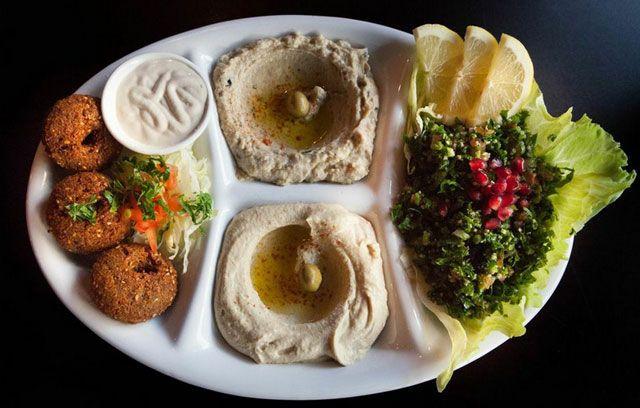 Hannibal - Lebanese Restaurant - Glebe. Very good hummus and meat- nice atmosphere