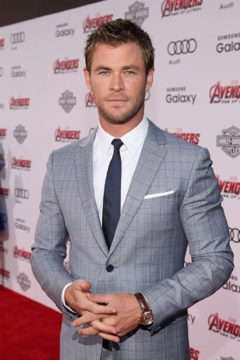 Chris Hemsworth at event of Avengers: Age of Ultron (2015)