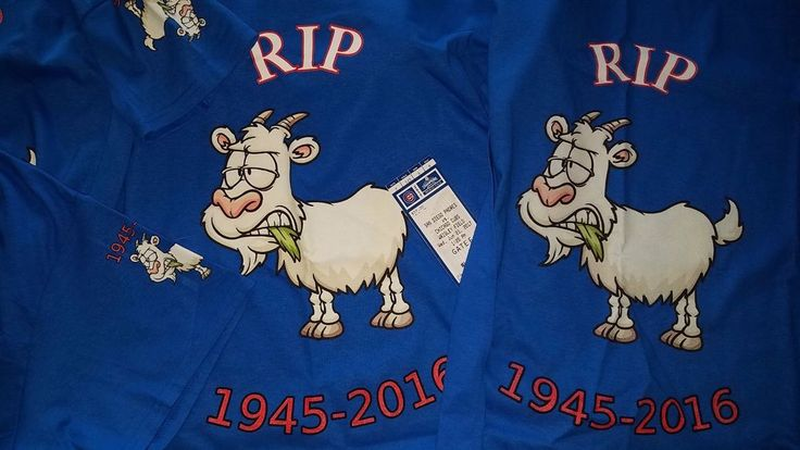 Cub Billy Goat RIP T-Shirt  | eBay