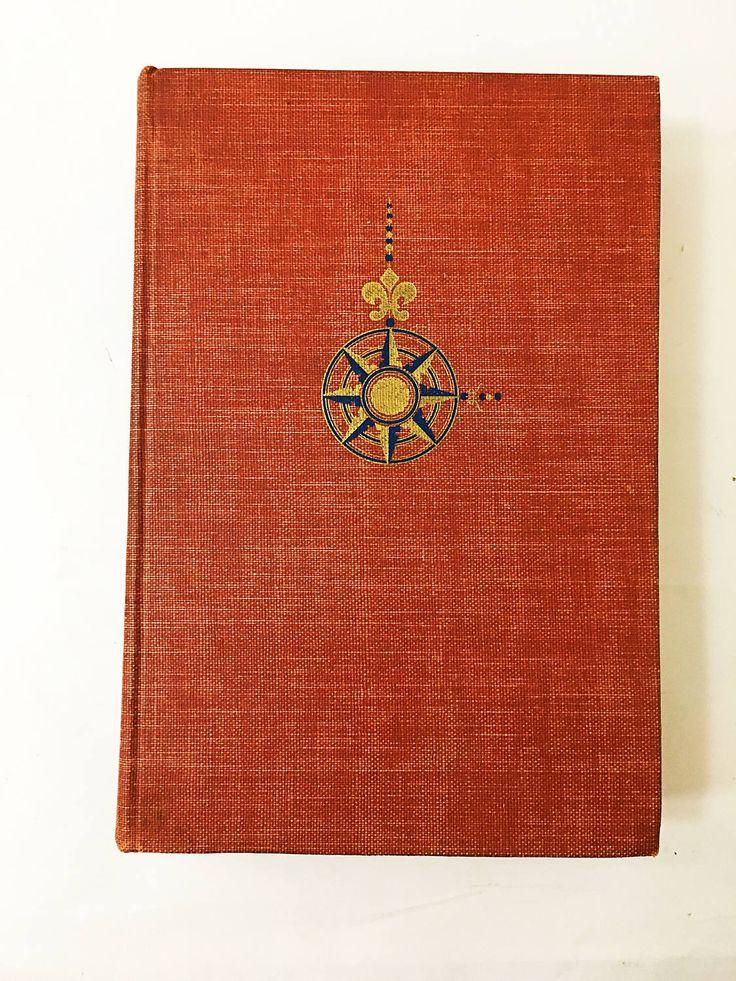Admiral of the Ocean Sea: A Life of Christopher Columbus book by Samuel Eliot Morison. Circa 1949. History Book. Columbus Biography