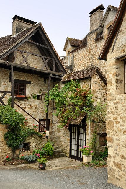 Stone house in Carennac, Lot, France