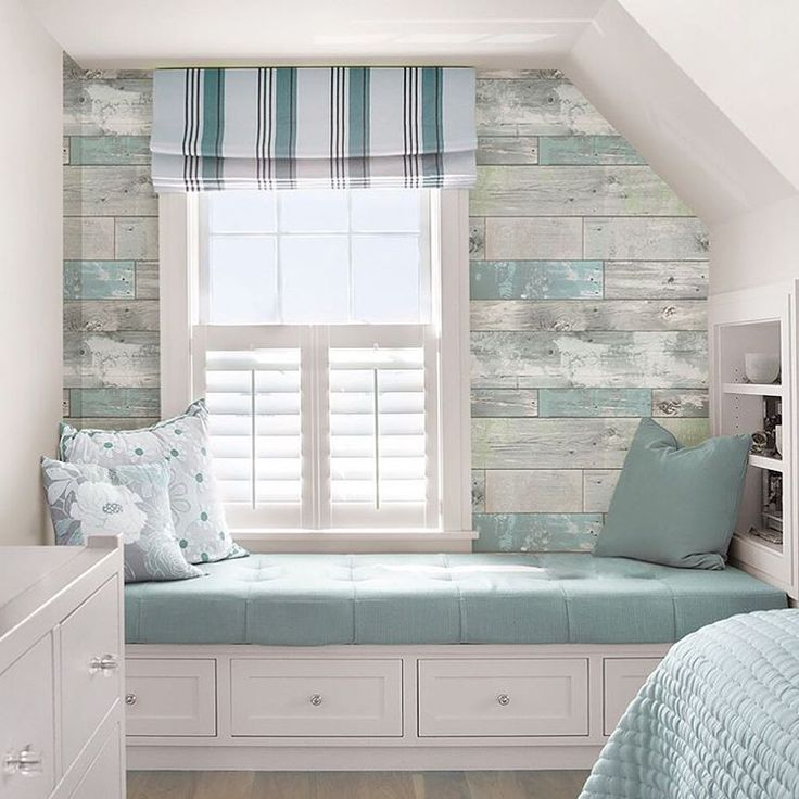 """""""#Revamp your #craftroom or #create your own rustic oasis with peel and stick wallpaper! Give your favorite room a face lift without damaging or ruining…"""""""