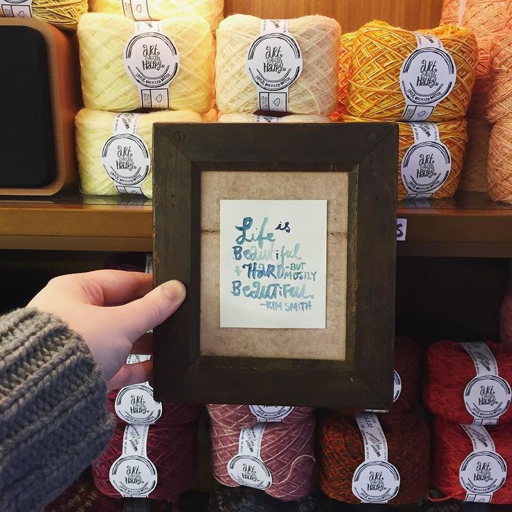 """""""Life is beautiful and hard but mostly beautiful."""" // #alterknituniverse #artequalshappy #auyarns //From our shop account: @AUshopUK follow us on instagram/twitter for more fun peeks into our shop near Bristol UK. http://ift.tt/1SPuuxi We're the wool shop in Cleeve with the big sheep mural on the A370."""