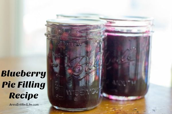 Heidelbeerkuchen-Füllungs-Rezept. Machen Sie Ihre eigene Heidelbeerkuchenfüllung mit diesem Geschmack …
