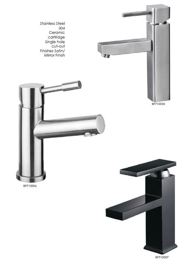 Single Lever Stainless Steel Bathroom Faucets Stainlesssteelbathroomfaucets