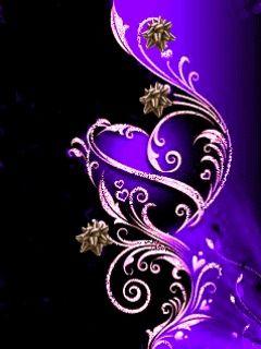 Black Love Wallpaper For Mobile : Purple Wallpaper Free: purple abstract wallpaper craft ...