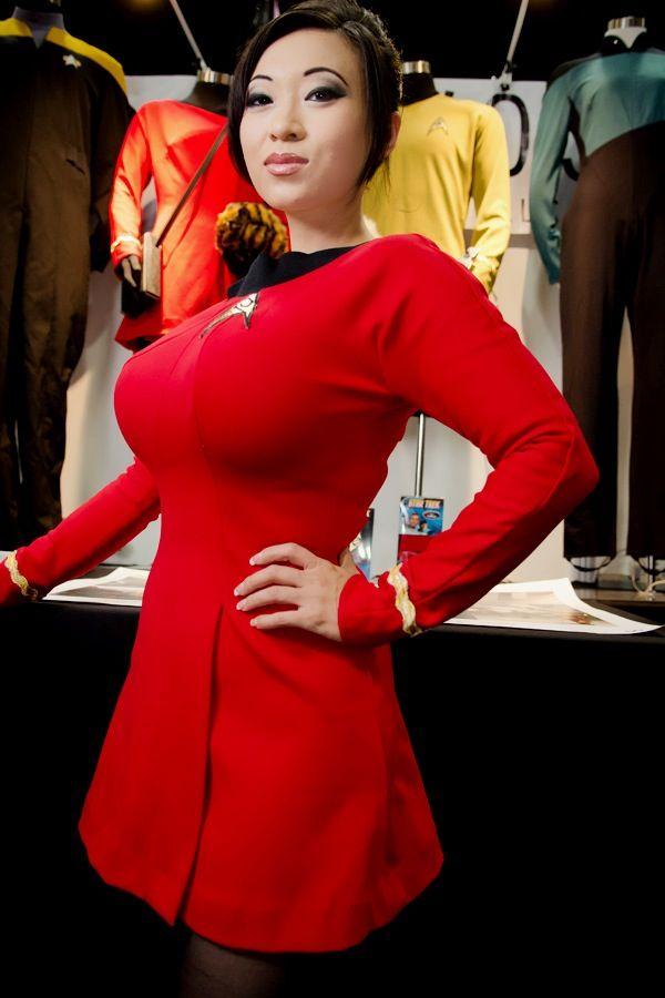 Uniform wearing nerd has fantasy sex with a cosplay hottie 4